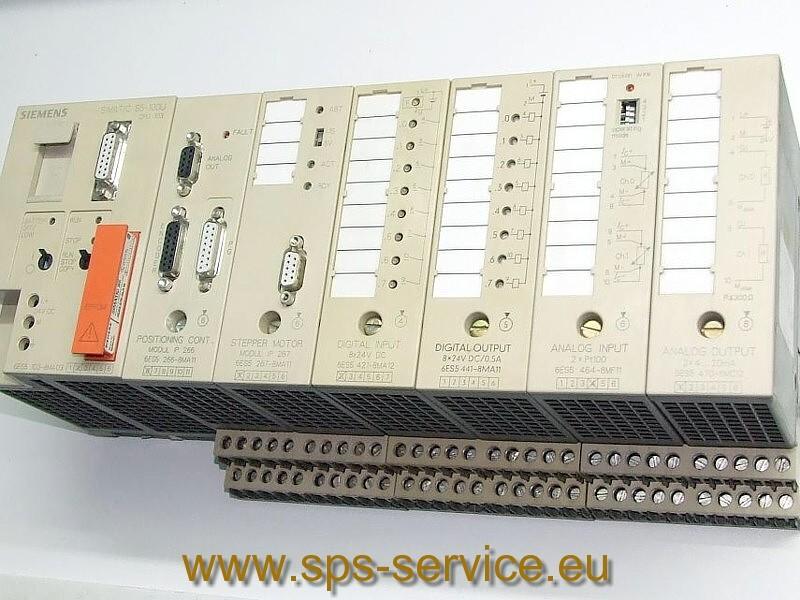Siemens SIMATIC S5-100U/F plc controller