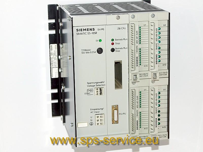 Siemens SIMATIC S5-105R plc controller