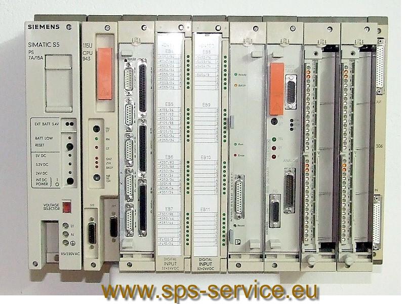 Siemens SIMATIC S5-115U/H/F plc controller
