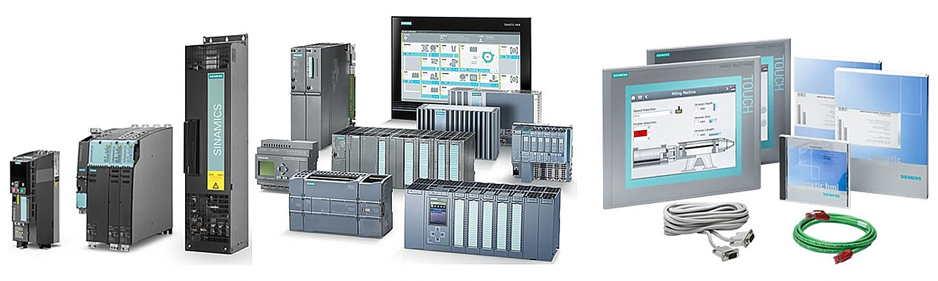 Centralized and distributed connection of Simatic I/O-systems